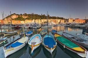 Катание на лодках во Франции